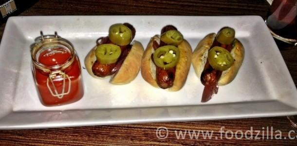 Hundred 'hot' dogs