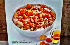 Crunchy Maple Almond Cereal