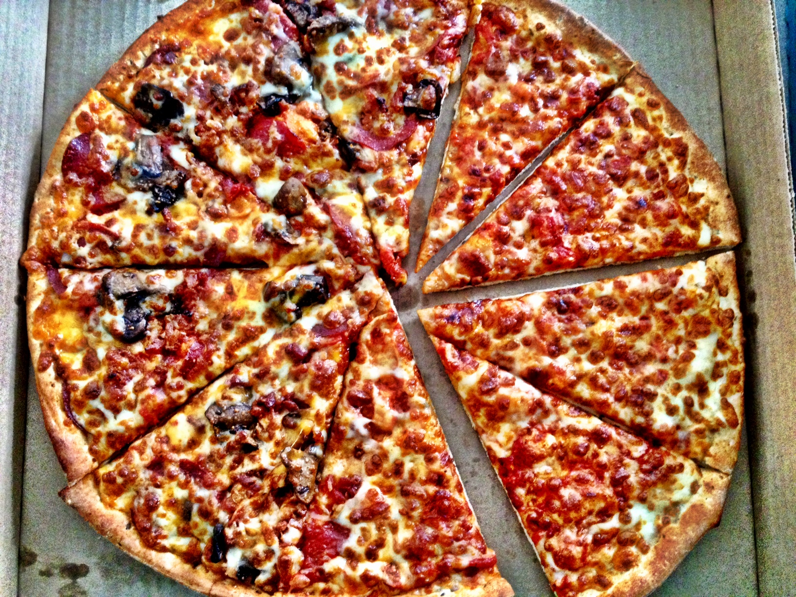 Cheese And True Canadian Pizza From Panago