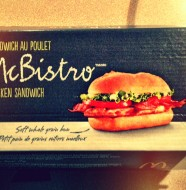 Chicken Swiss Mushroom McBistro Review