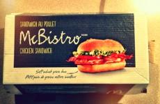 Chicken Swiss Mushroom McBistro Review