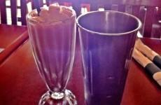 Whitespot Chocolate Milkshake