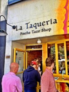 La Taqueria Taco Lineup