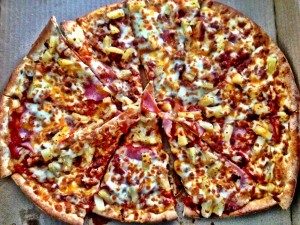 Tropical Hawaiian Pizza from Panago